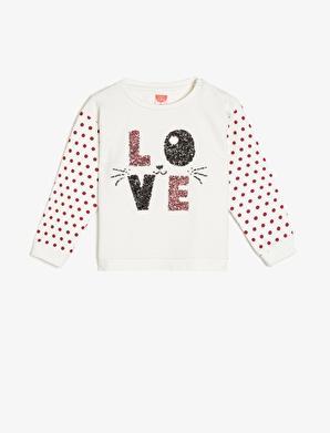 Koton Kids Pul Detaylı Sweatshirt